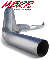 "MBRP 4"" Installer Series Aluminized Single (Downpipe-Back)"