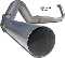 "MBRP XP Series T409 Stainless Steel 5"" Single Exhaust"