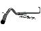 "MBRP Performance Series Aluminized 4"" Turbo Back"