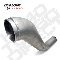 "Diamond Eye 4"" Aluminized HX40 Turbo Direct Pipe"