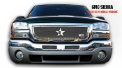 RBP RX GMC Series Grille One Pc Triple Plate Chrome