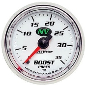 Auto Meter NV Boost Pressure Gauge Kit